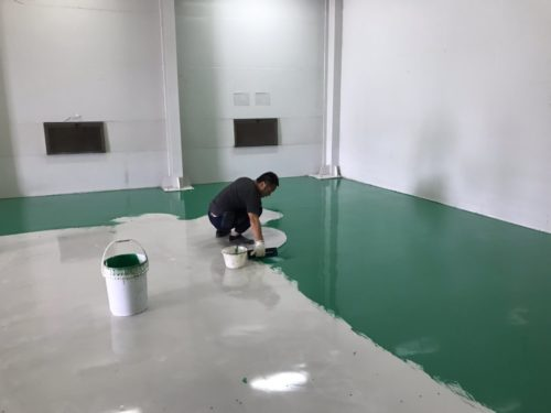 Epoxy地坪油漆工程_星宥工程