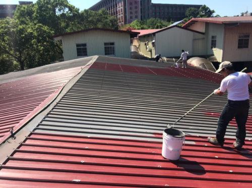 鐵皮屋頂防水