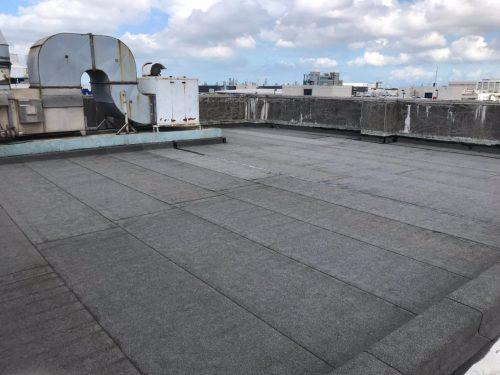 屋頂防水毯鋪設工程